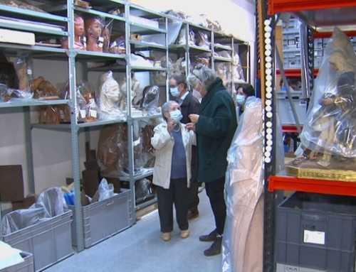 Avis d'Olot s'emporten a la residència obres del Museu de la Garrotxa durant 24 hores