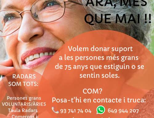 Nueva campaña de Radars para apoyar a las personas mayores