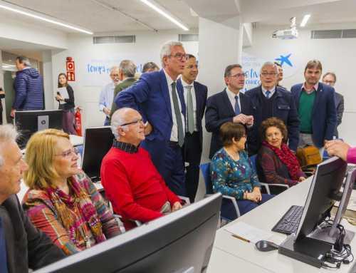 El EspacioCaixa Tarragona ofrece un envejecimiento «activo» a los ancianos
