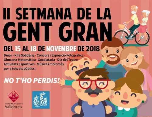 Valldoreix celebrarà la II Setmana de la Gent Gran
