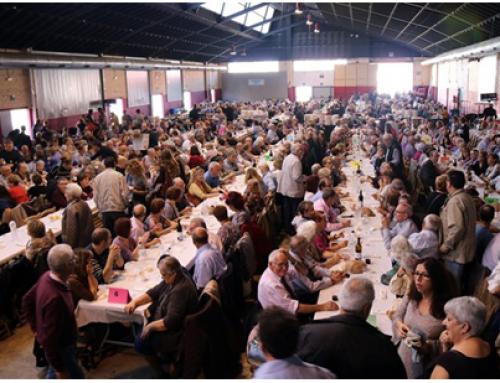 La 1a Trobada de la Gent Gran es converteix en un reconeixement a més de 1.200 persones