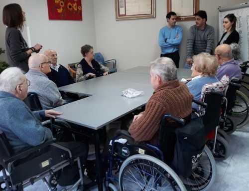 Tàrrega desenvolupa un taller de logopèdia per a gent gran