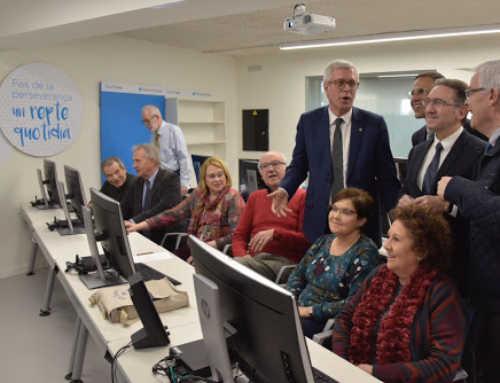 EspaiCaixa Girona impulsa talleres en línea pora personas mayores a causa de la COVID