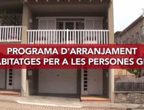 Ajuts arranjament habitatges per a gent gran 2018
