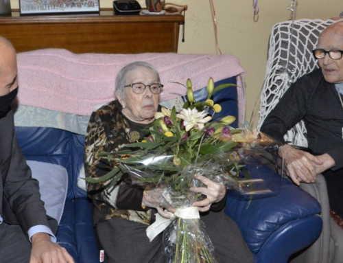 Un matrimoni de Manresa arriba als 100 anys plegats