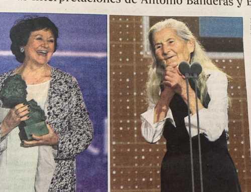 Dos octogenarias se llevan el #Goya2020