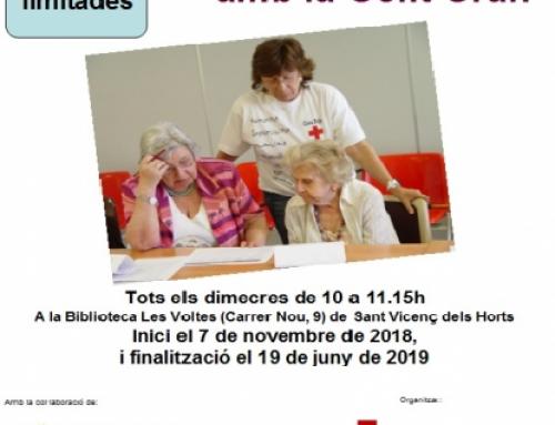 Al novembre comença un nou taller d'entrenament de la memòria per a gent gran