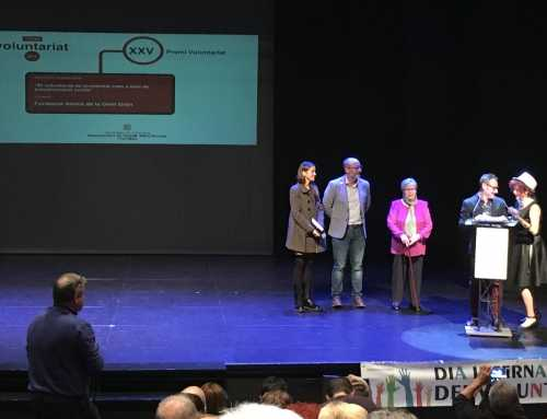 Fundación Amigos de los Mayores, galardonada con el Premio Voluntariado 2018