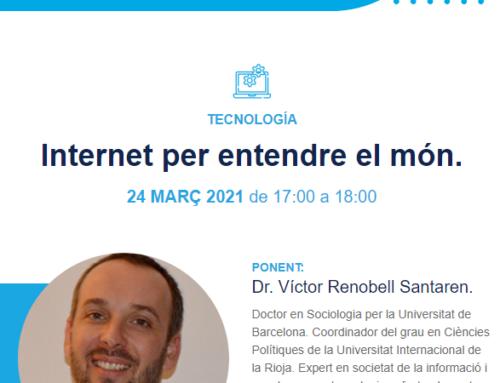 Conferència: Internet per entendre el món