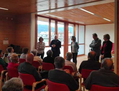 Porqueres estrena l'ampliació del centre de serveis a la gent gran