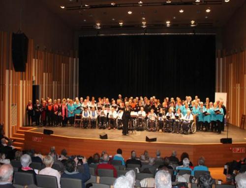 La III Trobada de Corals de Gent Gran del Garraf reuneix més de 250 cantants